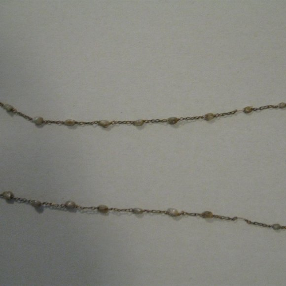 Jewelry - ANTQUE 100yr. old fresh water pearls necklace